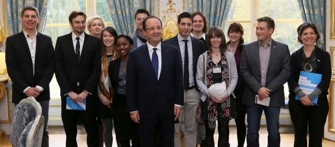 La JOC rencontre François Hollande
