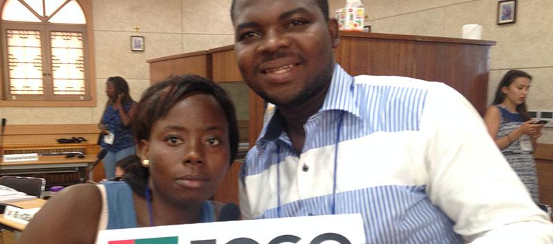 Conseil international de la CIJOC : retour en Afrique avec la JOC du Togo