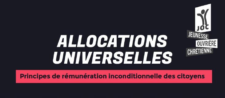 Les allocations universelles