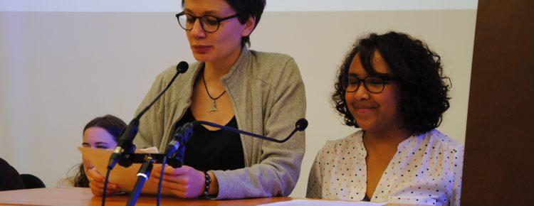 Rina et Lola : discours de la présidente