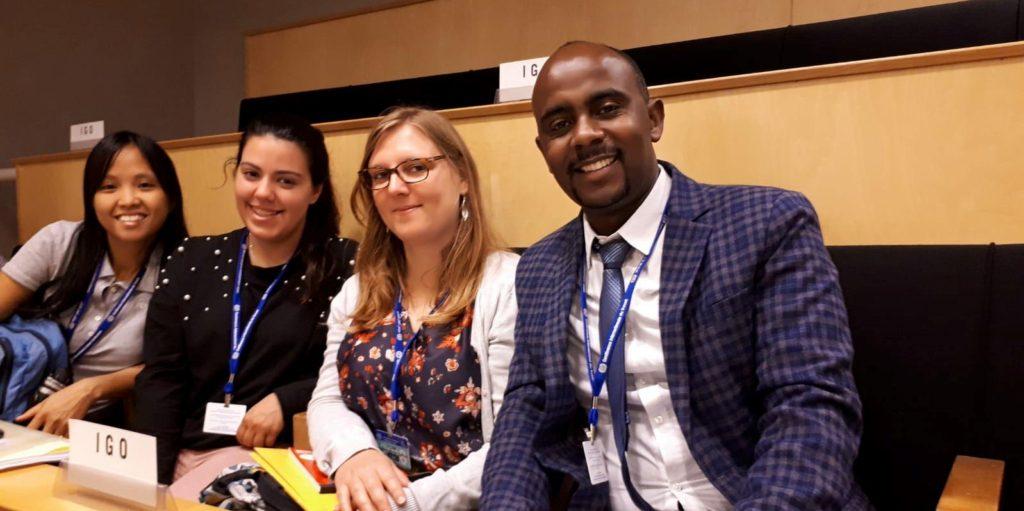 La CIJOC à la conférence internationale du travail