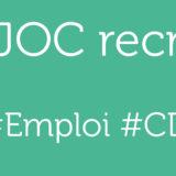 [Offre d'emploi] Responsable des travaux JOC (CDI)