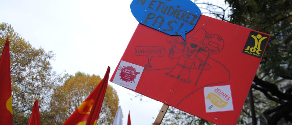 CP Non à la répression et aux projets de lois anti-démocratiques LPR et sécurité globale