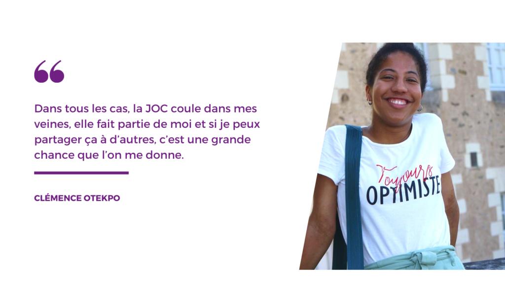 Entretien avec Clémence Otekpo, candidate à la présidence de la CIJOC